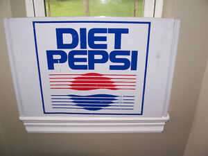 Metal Diet Pepsi Sign 13 by 20