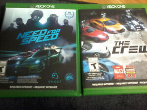 Xbox one need for speed and the crew