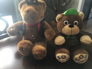 Lot of 2 Talking Bears - counting and storytelling