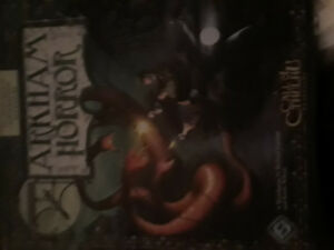 Arkham horror base set with all pieces.