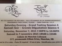 Saturday Evening Wine Fest Tickets!! 4 available!