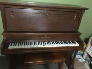 Refurbished Heintzman upright piano