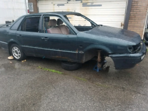 Free scrap car ready for pick up