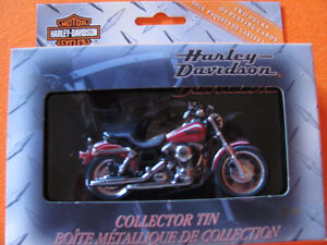 NUMBERED H-D Collector Tin with UNOPENED CARDS IN ORIGINAL PK