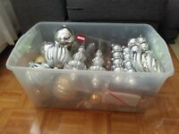 Christmas Ornaments - Silver and Gold Bundle