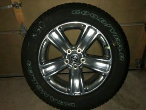 "4 Brandnew 2017 Dodge Ram 1500 factory  20"" rims and tires"