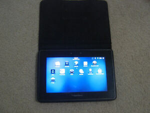 BLACKBERRY PLAYBOOK 16GB - BLACKBERRY CASE & 2 CHARGERS
