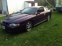 96 Ford Mustang 3.8L V6 5speed
