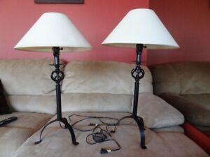 lampe de chevet vintage bedside lamp