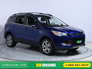 2013 Ford Escape SEL 4WD AUTO A/C CUIR MAGS BLUETOOTH HAYON ÉLEC