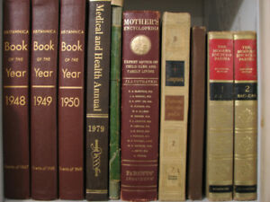 Vintage Hard Cover Books from Late 1890's and up