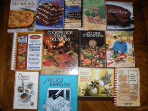 13 Miscellaneous Cook Books  (Last Call Before Being Discarded)