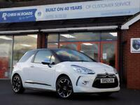 2012 12 CITROEN DS3 1.6 THP DSPORT PLUS 3DR (155) * FULL LEATHER *
