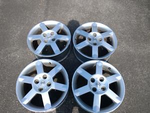 4 mags Nissan Sentra SER 2006 17 pouces
