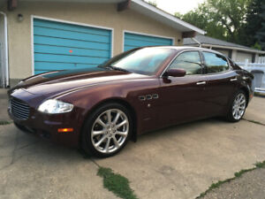2007 Maserati Quattroporte, Only 74,000 kms, Beautiful
