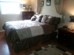 King Size Bed - $250