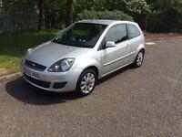 2007 Ford Fiesta silver 1.4 TDCI £30 tax ideal first car full mot PX welcome