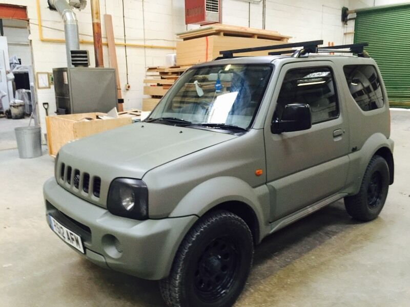 suzuki jimny 4x4 matt camo green in royal wootton bassett wiltshire gumtree. Black Bedroom Furniture Sets. Home Design Ideas