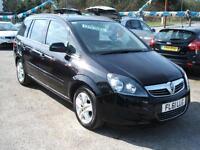 2011 61 Vauxhall/Opel Zafira 1.7CDTi 16v ecoFLEX Exclusiv 5d **69k / New MOT**