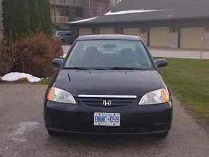 2001 Honda Civic LX 4 dr excellent shape
