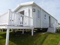 Gorgeous 2 bed holiday home caravan Nodes Point Decking included