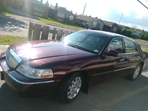 2008 Lincoln Town Car. Amazing shape and very well maintained.