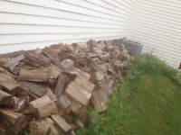 Maple firewood pile cured for 5 years need gone ASAP