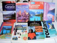 Canadian Travel Guide Books X 8