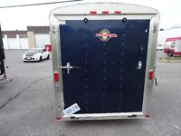 Awesome BLUE ENCLOSED TRAILER for sale - GREAT condition