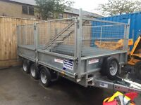 2015 ifor Willian's tri axle bogey trailer