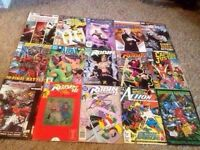 15 DC COMICS - Captain Justice, Robin, Superman & MORE!!