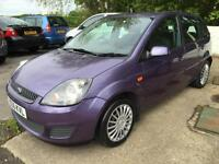 2006 Ford Fiesta 1.4 2006.5MY Style Climate 2 Owners, Full MOT, 80K Miles