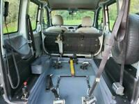 Renault Kangoo 1.6 Authentique 5 Seater Automatic Wheelchair Accessible Vehicle
