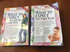What to expect when expecting. And first year