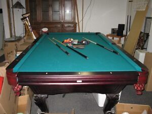 Professional Tournament size pool table