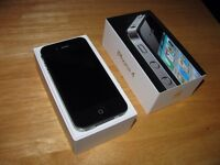 Black/noir 32gb Rogers iPhone 4 good condition