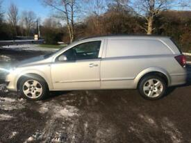 VAUXHALL ASTRA VAN SPORTIVE 1.9 CDTI IN SILVER CAMBELT CHANGED AIR CONDITIONING