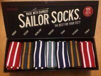 Brand New Gift Box O'Socks by Seasalt