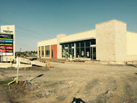 New Retail Construction on Robertson Road For Lease