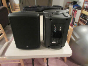 Yorkville C170P powered speakers