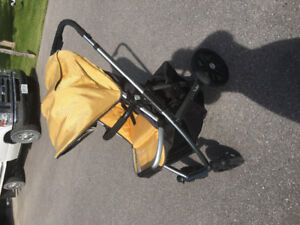 UPPAbAB stroller bassinet and accessories.