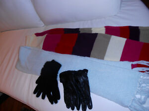 Two Scarves plus two pairs of gloves - all for $10