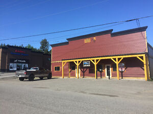 Office/Retail - Excellent Highway exposure in 100 Mile House