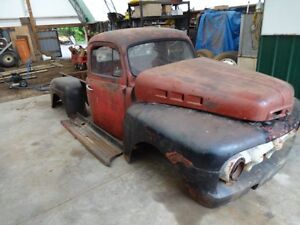 1952 MERCURY 1/2 TON COMPLETE SHEET METAL ONLY,
