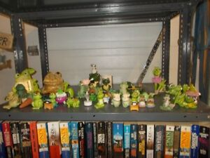 OVER 200 FROGS COLLECTION