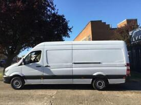 2017 MERCEDES-BENZ SPRINTER 2.1 314CDI HIGH ROOF 140BHP EURO 6. MERCEDES WARRANT