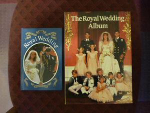 Prince Andrew and Sarah Ferguson Wedding Books