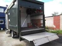 MECEDES 814 RACE TRUCK, LARGE GARAGE, TAIL LIFT, 6 BERTH, FULL KITCHEN