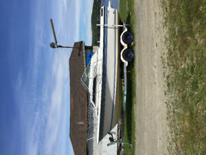 1989 25 ft wellcraft with trailer