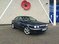 2007 Jaguar X-TYPE 2.0D SE SAT NAV CREAM LEATHER